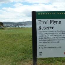 Errol Flynn Reserve Hobart / Tasmania