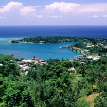Port Antonio, Jamaica, Navy Island View