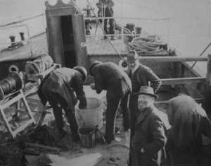 dredging expedition 1913
