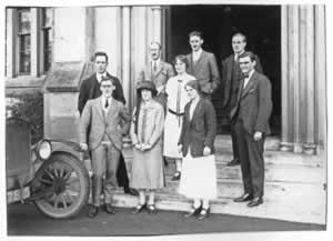 university staff c.1924