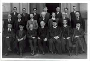University staff 1924