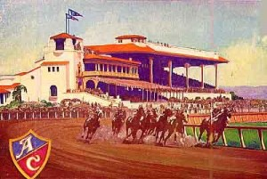 Caliente Racetrack in Color