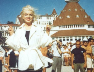Marilyn at the del