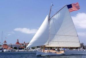 Sailing at Coronado