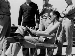 Errol Flynn Signing Autographs at North Island