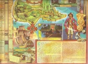 Oak Island map story