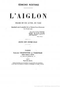 L'Aiglon -