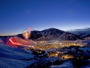 Sun Valley Color Fireworks