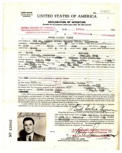 immigration form FLYNN