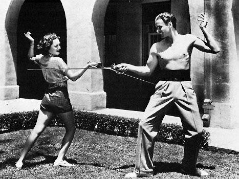 """""""A COUP DE FOUDRE"""" – """"Oh My! Oh My!"""" « The Errol Flynn Blog Errol Flynn Olivia De Havilland"""