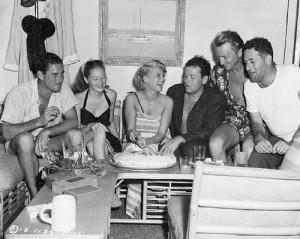 Rita Hayworth Birthday Celebration on Yacht