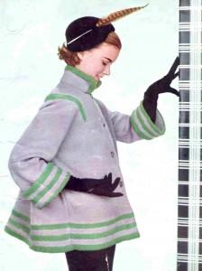 1950's Swagger Coat