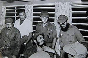 Flynn with Castro
