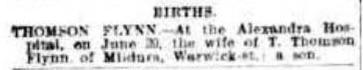 The Mercury (Hobart, Tas. : 1860 - 1954), Tuesday 22 June 1909, page 1