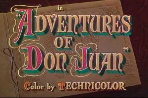 Adventures of Don Juan Title