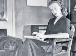 Irene Ghika with Book