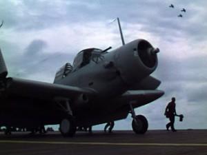 USS Enterprise plane