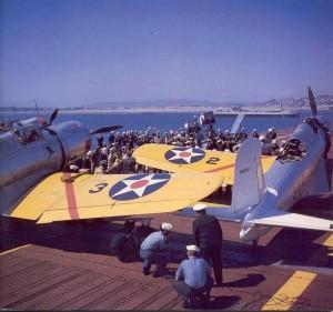 USS Enterprise with Vindicators