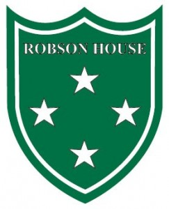 Robson House Crest Colour