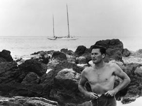 CIM - ErrollFlynn and his yacht Sirocco