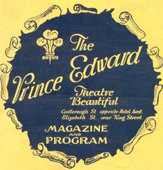 Prince Edward Theater