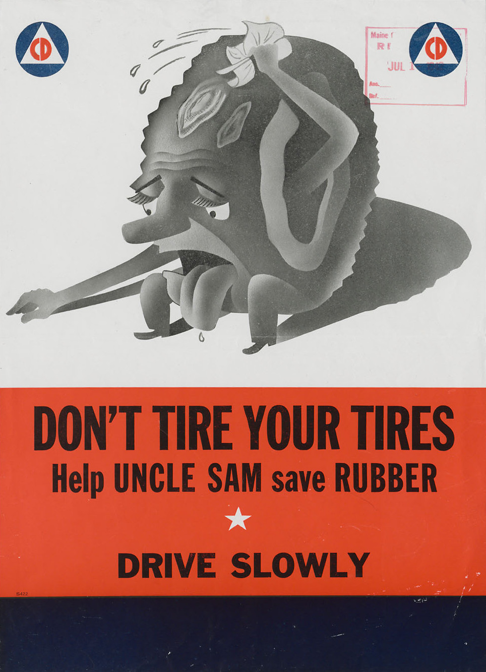 1941-1945-Dont-tire-your-tires-Help-Uncle-Sam-save-rubber-Drive-Slowly