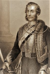 9625113-Lieutenant-General-James-Thomas-Brudenell-7th-Earl-of-Cardigan-1797-1868-on-engraving-from-1800s-Off-Stock-Photo