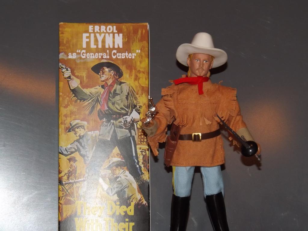 Errol Flynn as Custer with accessories!