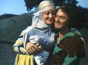 "10. Errol and Olivia ""Robin Hood"" 1938"